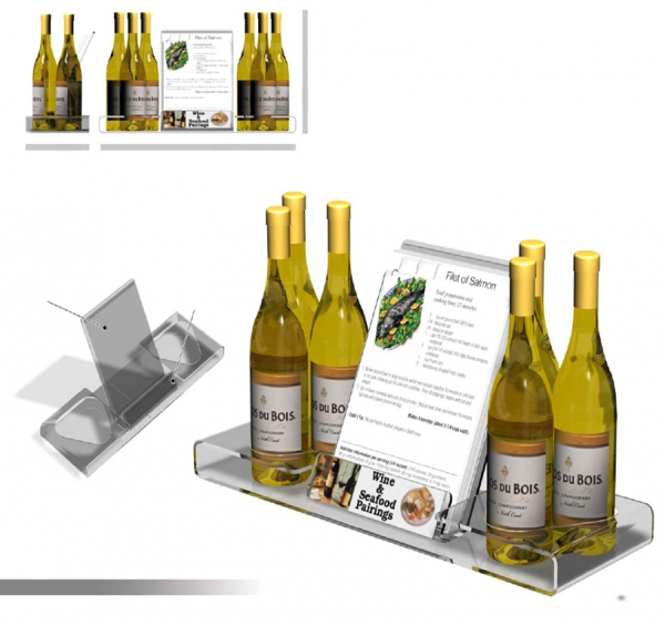 Wine & Recipe Countertop